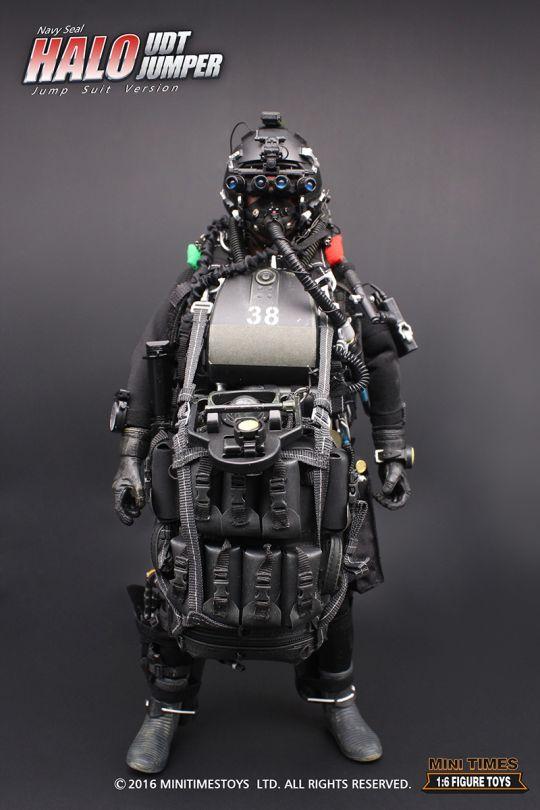 Navy Seal Pistol >> UDT US Navy Seal Halo UDT Jumper MINI TIMES - Machinegun