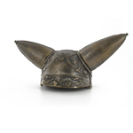 Celtic horned helmet