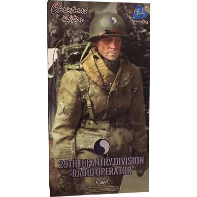 29th Infantry Division Radio Operator - Paul (Christmas Version)