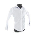 Long sleeves male shirt (White)