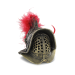 Die Cast Myrmillo Helmet (Gold)