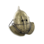 Die Cast Secutor Helmet (Gold)
