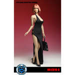 Female Sexy Dress Set (Black)