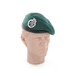 French Foreign Legion green beret with REC insignia