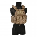6094A Plate Carrier with 5,56mm 6094K Triple Magazines Pouch (AOR1)