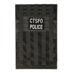 Tactical CTSFO Police Riot Shield (Grey)