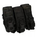 TMC Triple Magazines Pouch (Black Multicam)