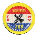 FDNY Squad 288 Patch (Red)