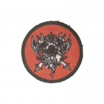 Screaming Demon Patch (Red)