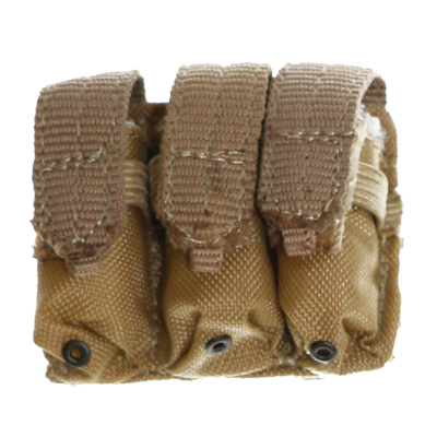MOLLE System M4 triple mag pouch