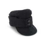 German M43 black cap without insignia