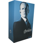 Agent Phil Coulson empty box with brown box
