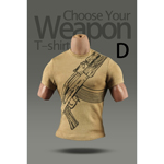 T-shirt Weapon D