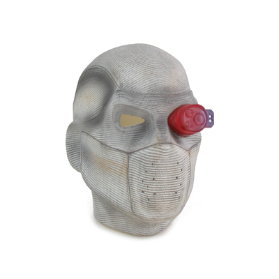 Mask with Aiming Device (White)