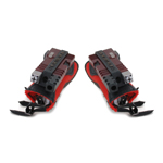 Dual Wrist Weapons with Pads (Red)