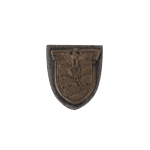 Die Cast Arm Shield Crimea Badge (Bronze)