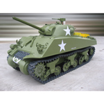 M4A3 Sherman tank gas powered 75mm Gun (without radio)