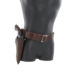 Cowboy pistol and holster set (Brown)