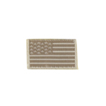 Tan US flag patch