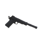 Colt 45 Pistol with Silencer (Black)