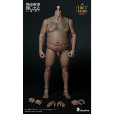 Asian Male Durable Fat Body
