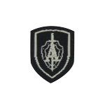 Alpha Group Patch (White)