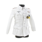 Officer Parade Jacket (White)