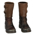 M43 Buckle Boots with Gaiters (Brown)