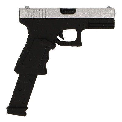 Glock 17 Pistol with 30 Rounds Magazine (Silver)