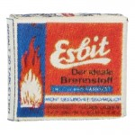 Esbit Fuel Tablets Box (Red)