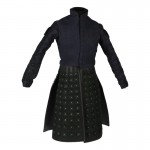 Knight Jacket with Armored Skirt (Blue)