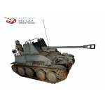 WWII German Tank Destroyers - Diecast Marder III Sd.Kfz. 139 (Grey)