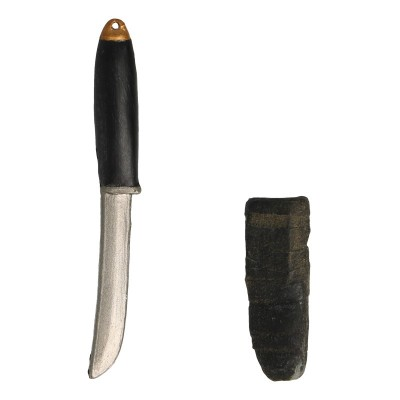 Tanto Fighting Knife with Scabbard (Gris)