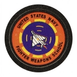 United States Navy Fighter Weapons School Patch (Orange)