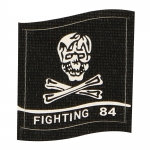 Fighting 84 Patch (Black)