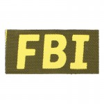 FBI Patch (Yellow)