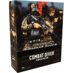 Marine Force Recon Combat Diver (Woodland Marpat Version)