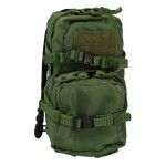 Assault Backpack with Hydration Tube (Olive Drab)