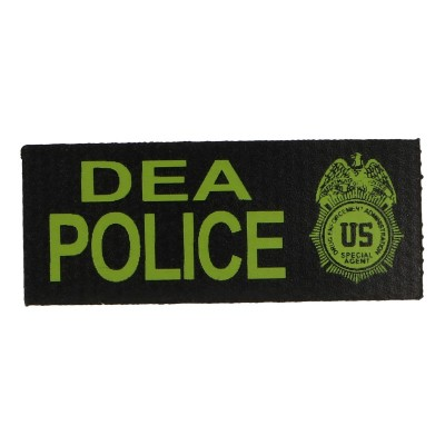 DEA Police Patch (Green)
