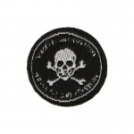 Russian Spetsnaz FSB Skull Patch (Black)