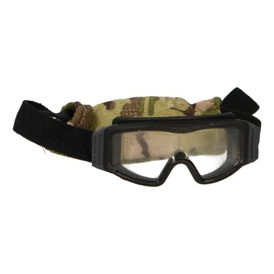 Goggles with Pouch (Black)