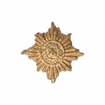 Diecast Irish Guards Cap Badge (Gold)