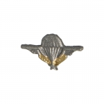 French Paratrooper Certificate Badge (Grey)