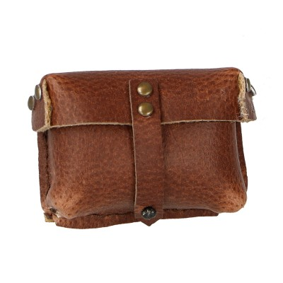 Leather Ammo Pouch (Brown)