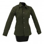 Female Tropical Shirt (Olive Drab)