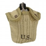 M41 Canteen with Cup and Pouch (Beige)