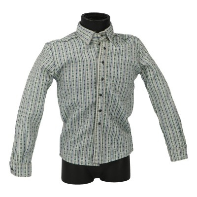 Patterned Shirt (Green)