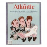 The Atlantic Magazine Cover (Blue)