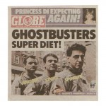 Globe Newspaper Cover (Grey)