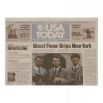 USA Today Newspaper Cover (Grey)